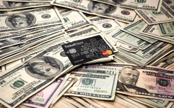 Пополнения долларового счета Тинькофф