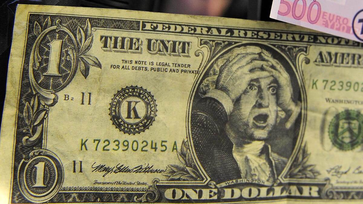 Колебания курса доллара