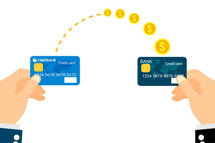 Движение денег на карту Сбербанка