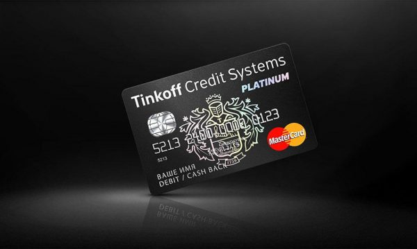 Кредитная карта Платинум от Тинькофф банка