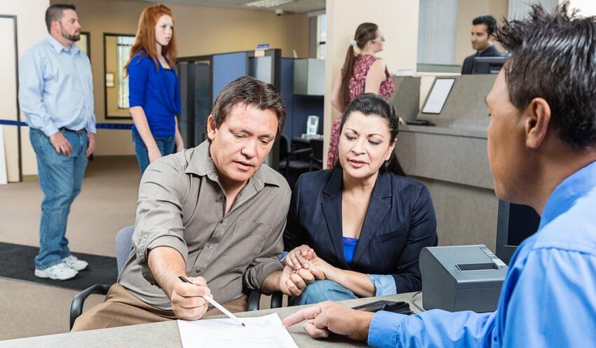 получение кредита в офисе