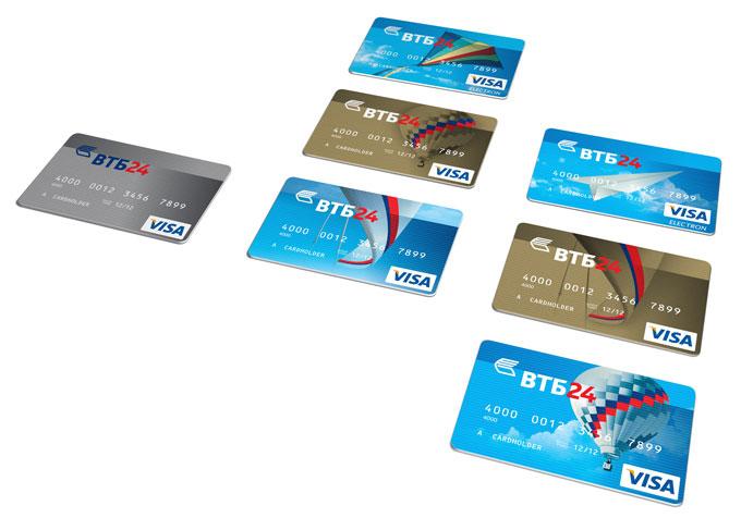 карточки ВТБ 24
