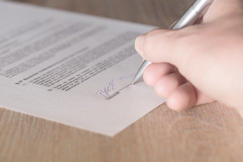 подделка подписи