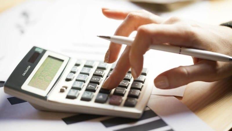 подсчет остатка по кредиту