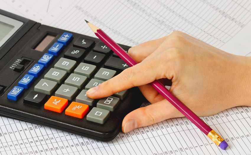 вычисление ежемесячных выплат